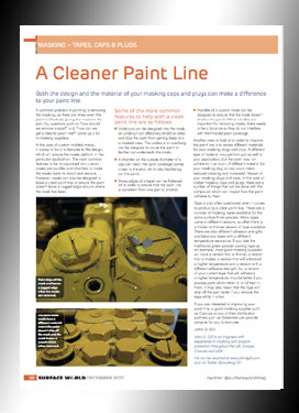 Creating a cleaner paint line